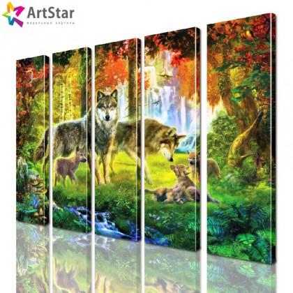 Модульные картины - животные, Art. anml_0256