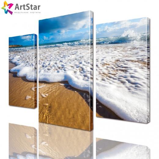 Модульная картина - Пляж, Art. more_0029