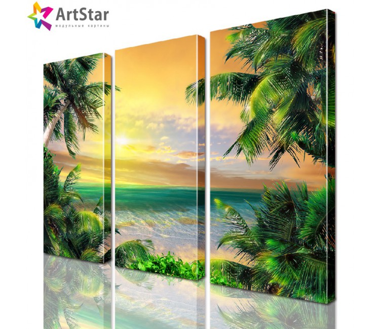 Модульная картина - Морской пейзаж, Art. more_0010