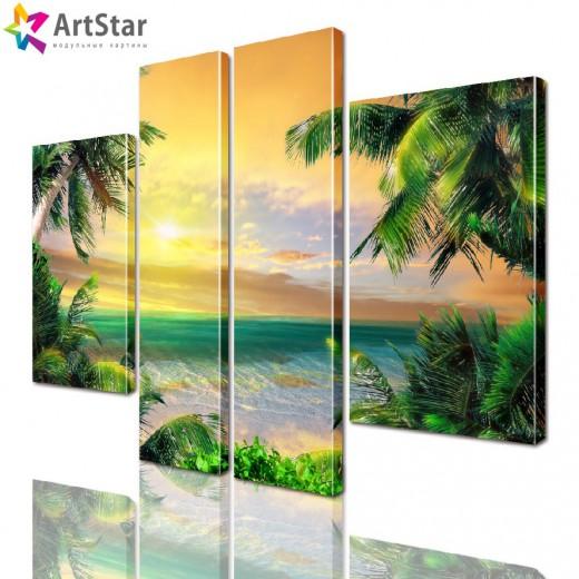 Модульная картина - Морской пейзаж, Art. more_0058