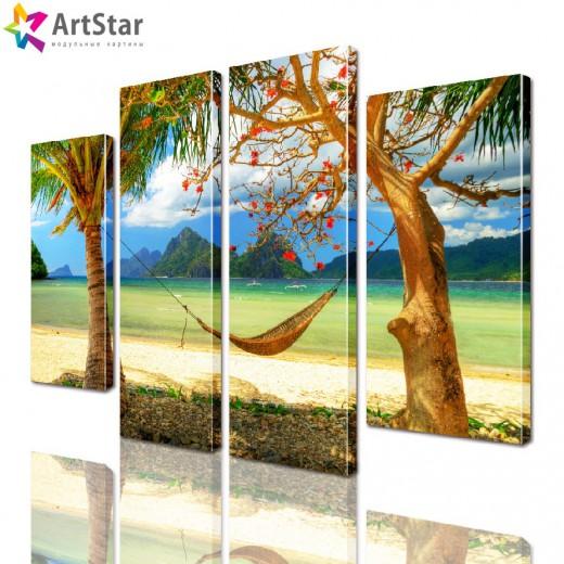 Модульная картина - Морской пейзаж, Art. more_0062