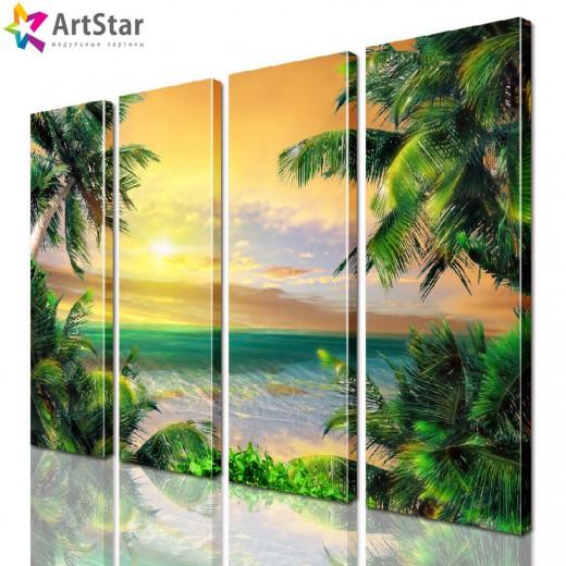 Модульная картина - Морской пейзаж, Art. more_0042