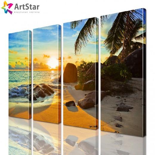 Модульная картина - Морской пейзаж, Art. more_0043