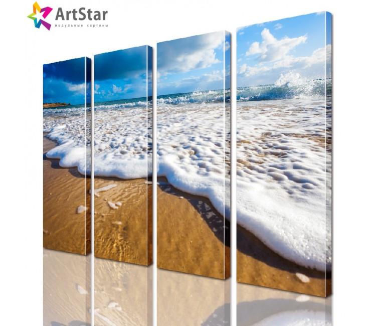 Модульная картина - Морской пейзаж, Art. more_0045