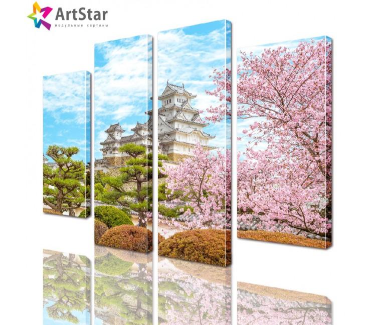 Модульная картина - Пейзаж природы, Art. natrl_0120