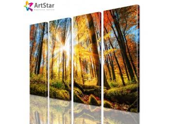 Модульная картина - Пейзаж природы, Art. natrl_0089
